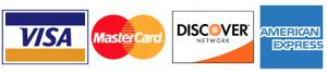 payment MC/Visa/Discover/Amex